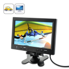 9 Inch LCD Monitor for In Car Headrest or Stand   a quick and affordable way to transform your boring ride into a fun and entertaining experience