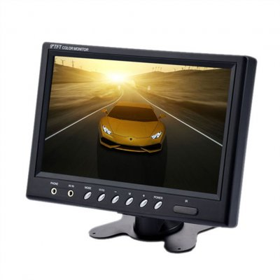 9 Inch TFT LCD Monitor Black