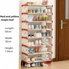 9 Layers Shoes Rack Assemble Home Dustpoof Storage Shoe Cabinet HBY09B