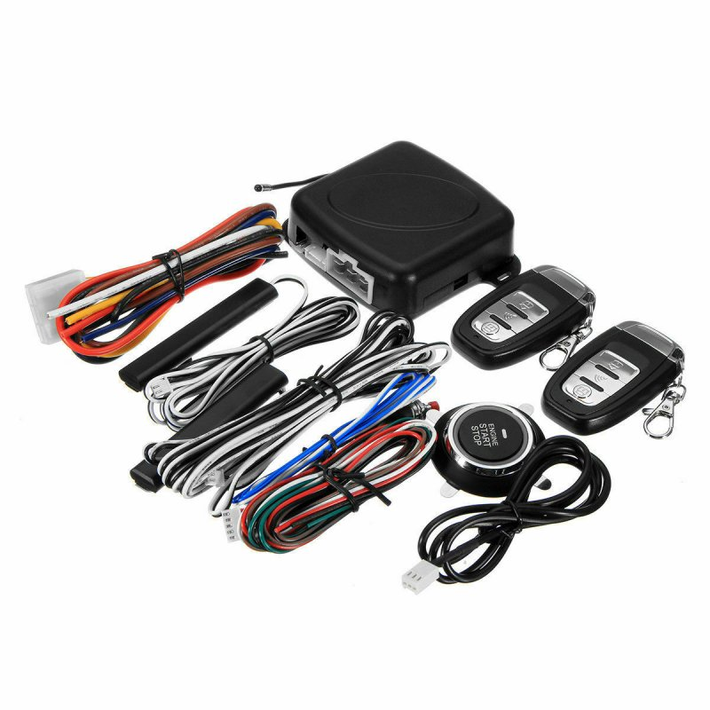 Wholesale 9 In 1 Start Push Button Remote Starter Keyless Entry Car Suv Alarm System Engine As Shown From China