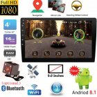 9 inch / 10.1 inch 2DIN Android Car Multimedia Player GPS Autoradio Bluetooth WIFI Car Stereo Radio MirrorLink 2Din Car Audio Radio Camera 9 inch with camera
