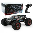 9125 Four-wheel Remote Control High Speed Modeling Car Toy blue_1:10
