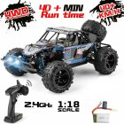 9303E 1:18 Scale Remote Control Car 40+km/h High Speed Off Road Vehicle Toys RC Truck for Kids and Adults 1 battery