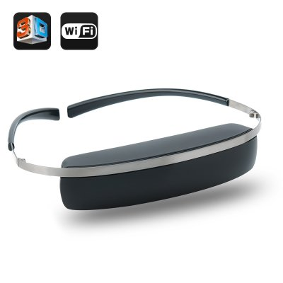 98 Inch 2D/3D Virtual Screen Video Glasses