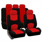 9Pcs Car Seat Covers Set for 5 Seat Car