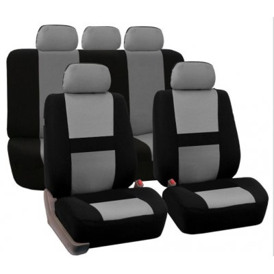 Gray 9Pcs Car Seat Covers For SUV