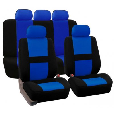 Blue 9Pcs Car Seat Covers For SUV