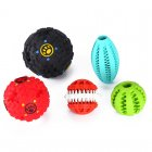 A collection of Durable Rubber Dog Toys for training and entertaining your dog as well as looking after their teeth