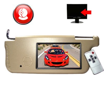 Car Sun Visor Monitor