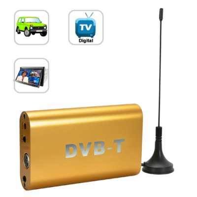 DVB-T Digital TV Receiver for Cars (MPEG-2)