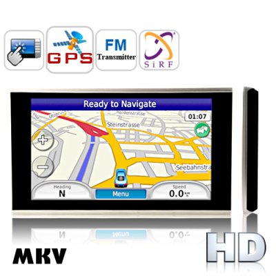 6.2 Inch HD Touch Screen GPS Navigator