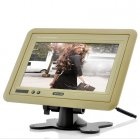 A quick and easy way of keeping the back seat drivers quiet    mount this 7 Inch beige Headrest TFT LCD Monitor    The vibrant high quality screen will show all