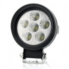 A round 18W 920lm CREE XB D LED light with universal fit for indoor and outdoor uses  backup light  car  Jeep  truck  SUV  ATV and or trailer light