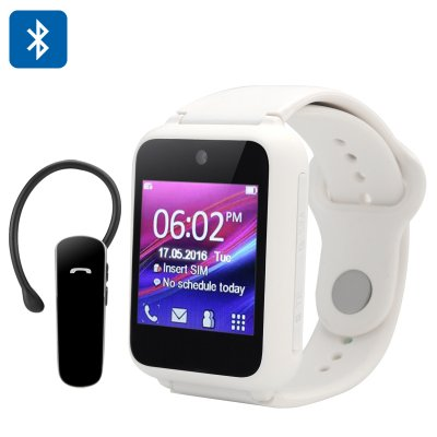 Ken Xin Da S9 Smart Watch Phone (White)