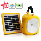 A super bright Solar Lantern for outdoor activities as well as back up device