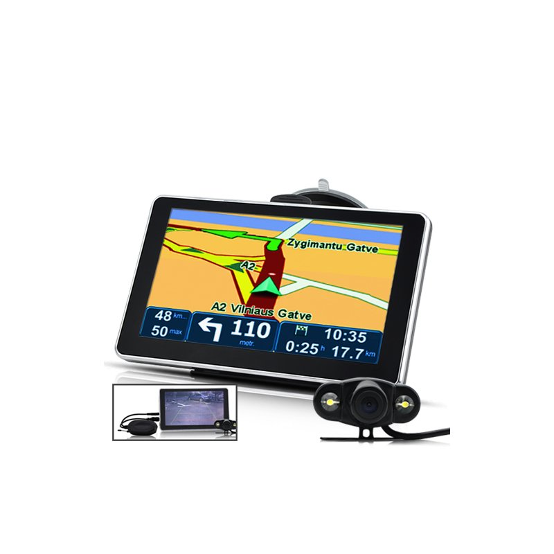 6 Inch GPS Navigator with Camera
