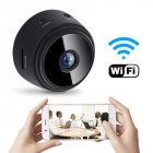 A9 Mini Camera Remote Monitor Home Security 1080p Ip Camera Ir Night Wireless Wifi Mini  Camcorder black