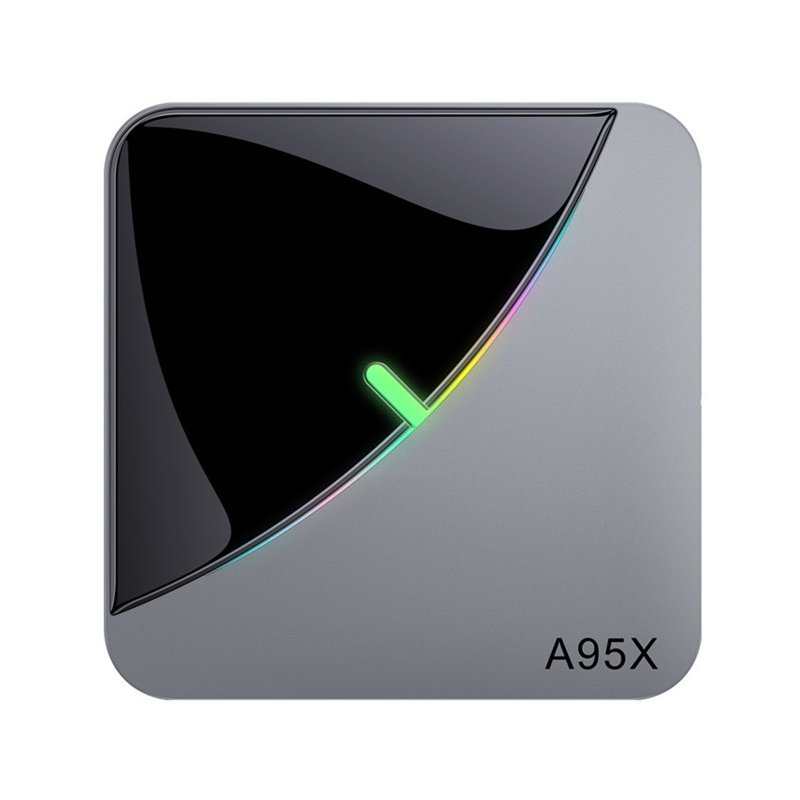 A95X F3 Air 8K RGB Light TV Box Android 9.0 Amlogic S905X3 4GB 64GB Wifi 4K Netflix Smart TV BOX Android 9 A95X-F3 Gray + black_4GB + 32GB
