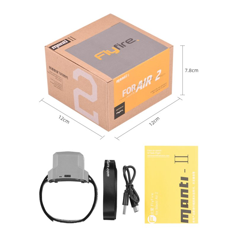 ABS Jump-sack Intelligent Flight Safety Automatic Accessories for Dji Yu Air 2 black