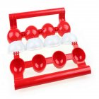 ABS Meatball Maker Mold Stuffed Fish Meat Ball Easy Mold Scoop Patty Kitchen Gadget red