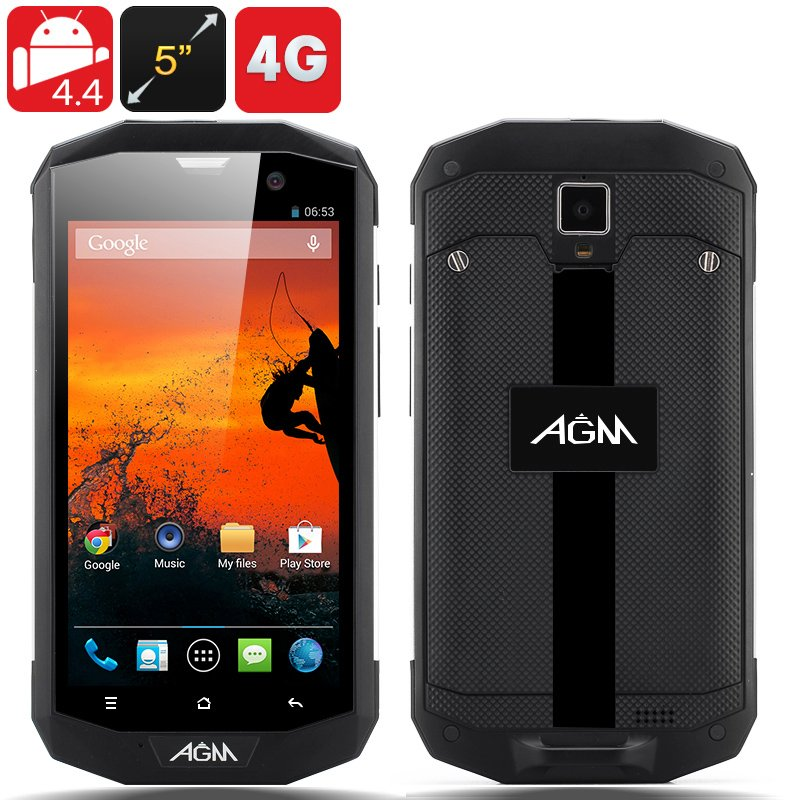 AGM 5S Rugged Phone (Silver)