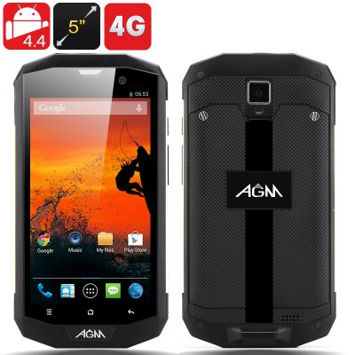 AGM 5S Rugged Phone (Golden)