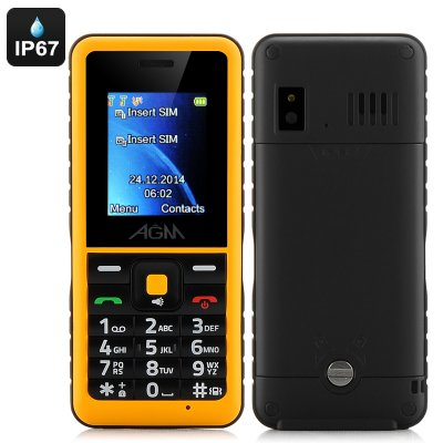 AGM Stone 2 Bar Phone (Yellow)