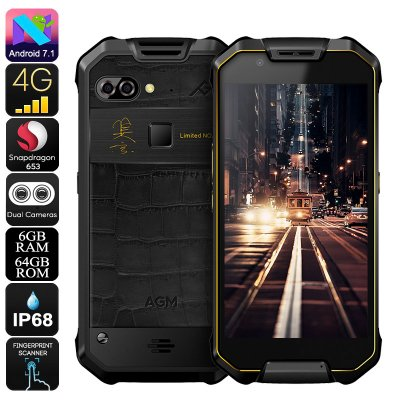 AGM X2 Rugged Phone 64GB (Gold)