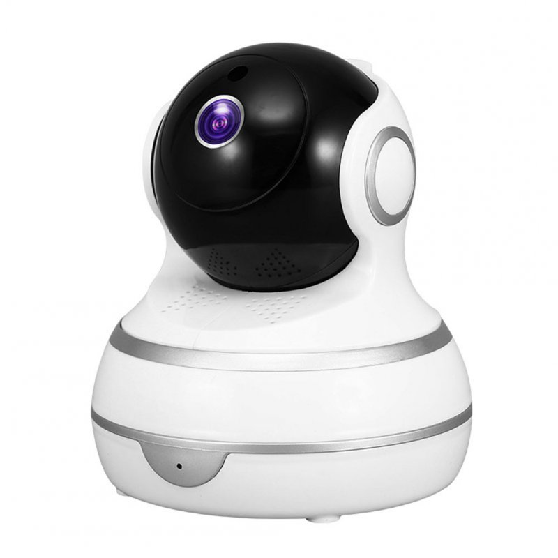 AI Intelligent Human Body Tracking 1080P High-definition Pan-Tilt 360-degree Rotating WIFI Camera UK Plug