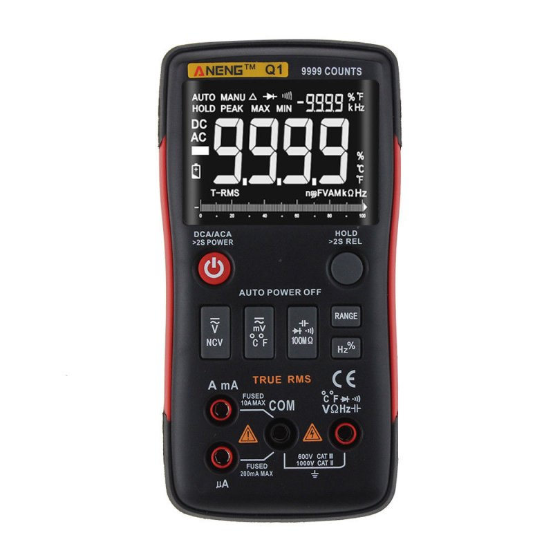 Digital Multimeter Button