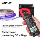 ANENG ST209 Digital Clamp Meter Multimeter 6000counts True RMS Mini Amp DC AC Clamp Meters voltmeter 400v Automatic Range red