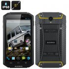 AORO I5 Rugged Smartphone (Yellow)