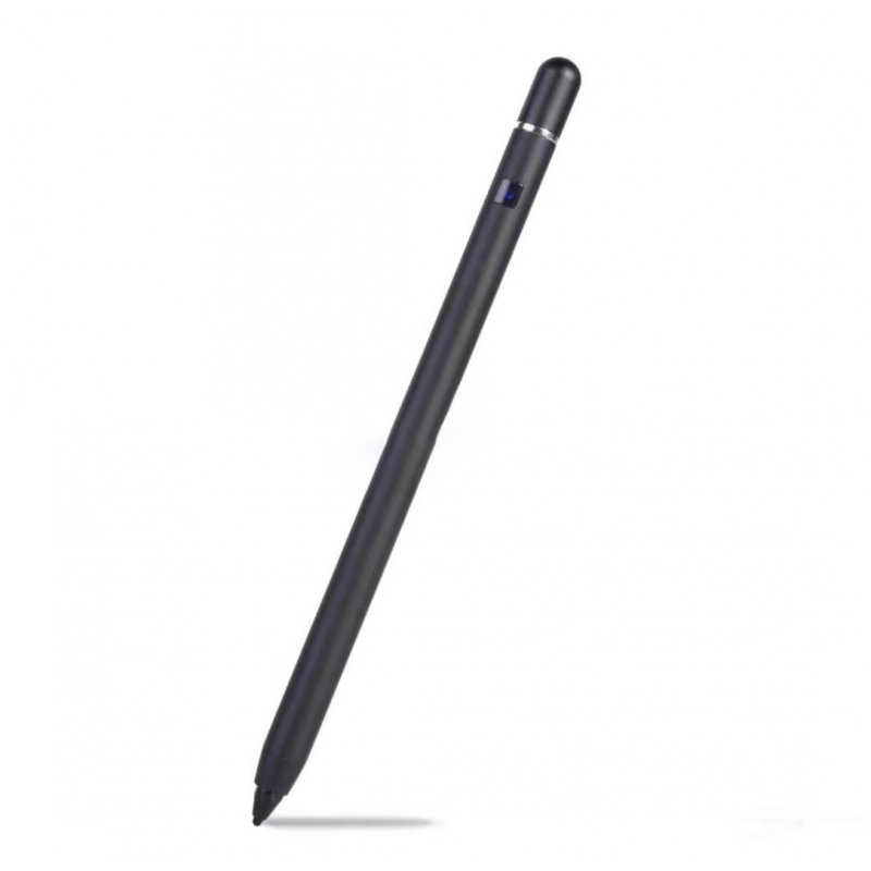 Active Capacitive Tablet Mobile Phone Stylus Touch Screen Pen Portable black