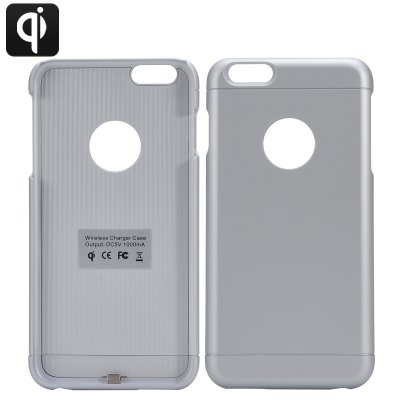 iPhone 6 Plus Qi Charging Case (Silver)