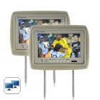 Add some extra fun to your long trips with this high definition 9 inch headrest monitor