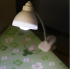 Adjustable Clip On Book Reading Light Eye Protection Mini LED Bedside Table Lamp white 5   4 5   18CM