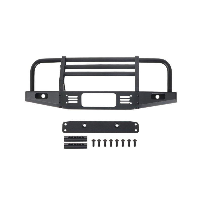 Metal Black RC Front Bumper for 1:10 RC Crawler Car Axial SCX10 90046-4
