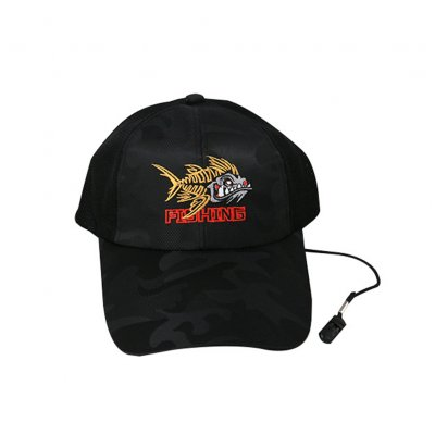 Adjustable Outdoor Sport Fishing Sunshade Sport Mesh Breathable Fishermen Hat Baseball Cap black