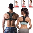 Adjustable Upper Back Shoulder Support Posture Corrector For Adult Children Corset Spine Brace Back Belt Orthotics Back Support L