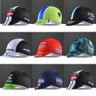 Adult Cycling Cap Breathable Anti Sweat Quick Dry Elastic Bicycle Riding Hats Random Color Free size_Random color