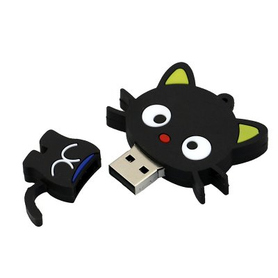 Cat USB Flash Drive U Disk 2.0 - Black 32G