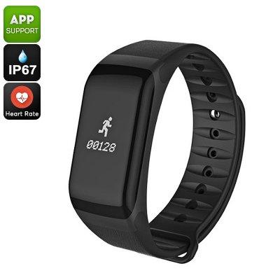 Sports Tracker Bracelet Black