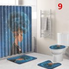 African Women Printing Toilet Pad Cover