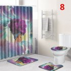 African Women Print Bathroom Set