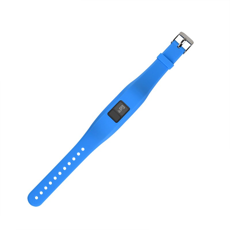 Alician Replacement Sport Band Stainless Steel Wristband for Vivofit3 Tracker Bracelet Blue