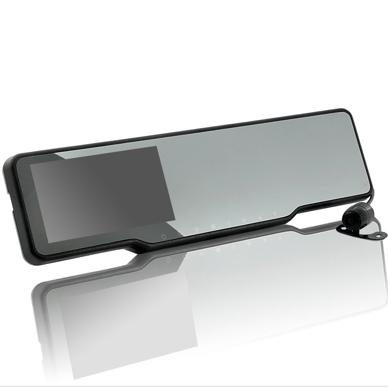GPS And Radar Detector Rearview Mirror