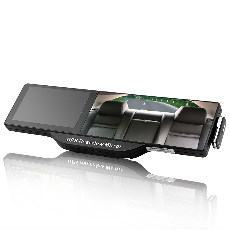 Bluetooth Rearview Mirror w/ GPS