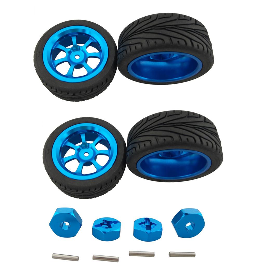 4PCS Tire Wheel for XINLEHONG TOYS 9115 1//12 40km//h RTR High Speed  Z7Q1