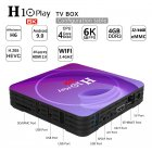 Allwinner H10 TV Box Hd Smart Network Player for Android 9.0 European plug