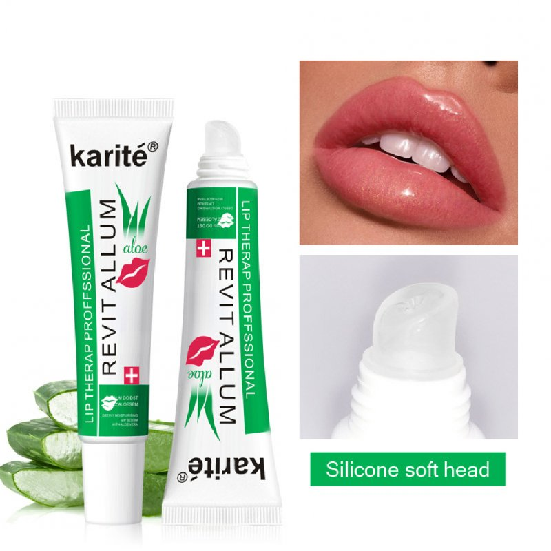 Aloe Vera Lip Gloss Nutritious Lips Moisturizer Transparent Color Liquid Lipstick Natural Protect Lips 17ml